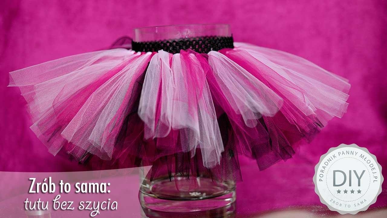 DIY : spódniczka TUTU bez szycia - zrób to sama krok po kroku