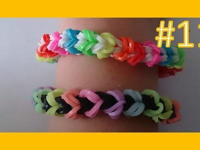 LEKCJA #11 - Gumki Rainbow Loom - MatyldaTV - bransoletki z gumek - snakelet