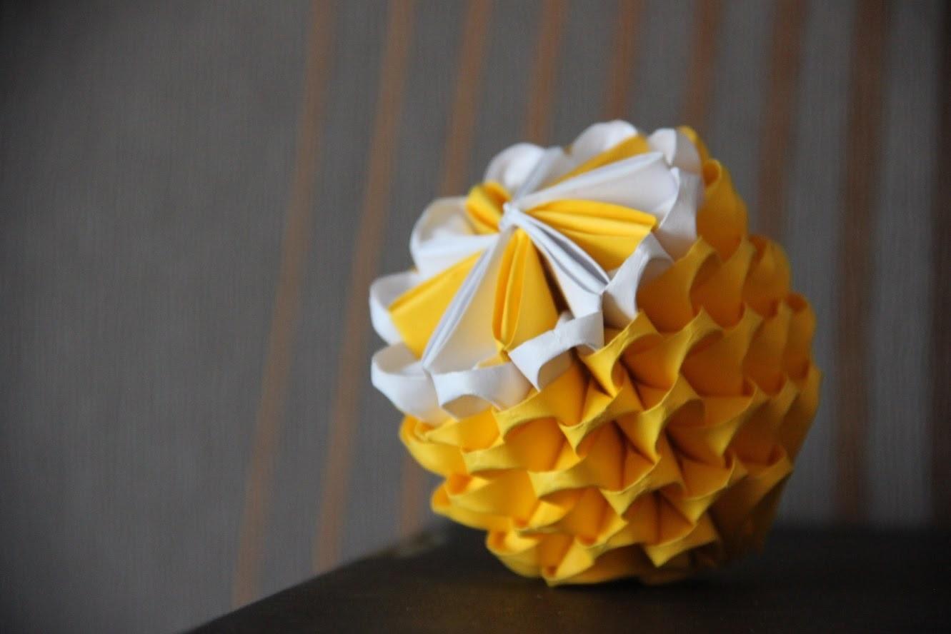 #7 Cytryna - origami modułowe