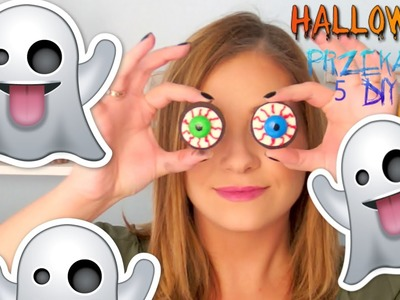 DIY na Halloween PRZEKĄSKI snacks