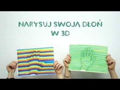 Jak narysować trójwymiarową dłoń