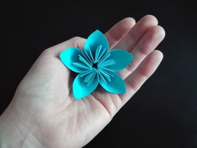 Jak zrobić kwiat kusudama. How to make a kusudama flower
