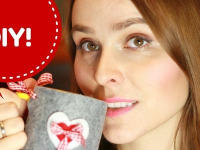 Vlogmas #23 DIY Świąteczny pokrowiec na kubek!