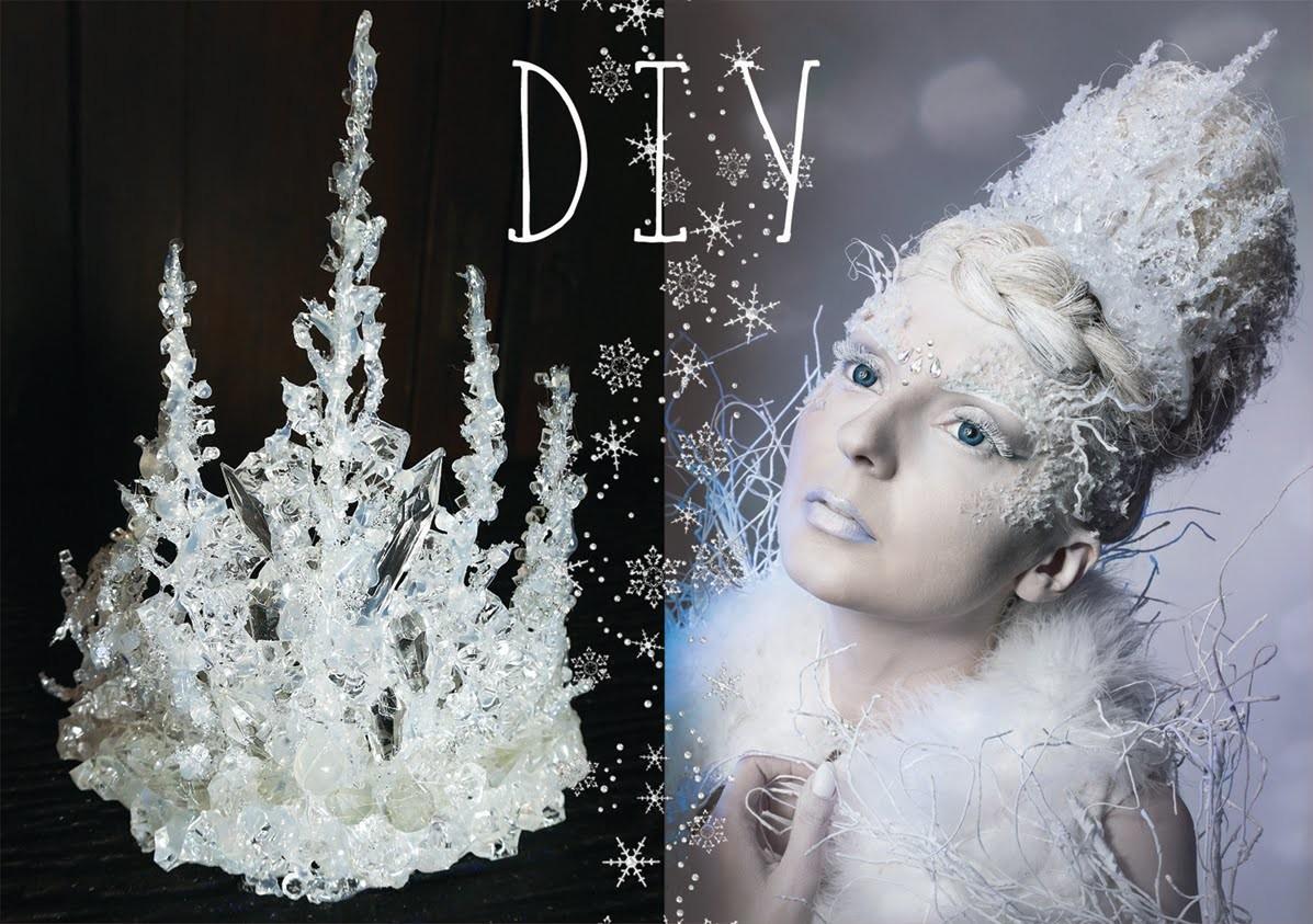 Vlogmas - * DIY Korona Królowej Lodu *