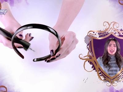 """Zrób to sama: Zdobiona opaska w stylu Auradonu. Oglądaj """"Następców"""" tylko w Disney Channel!"""