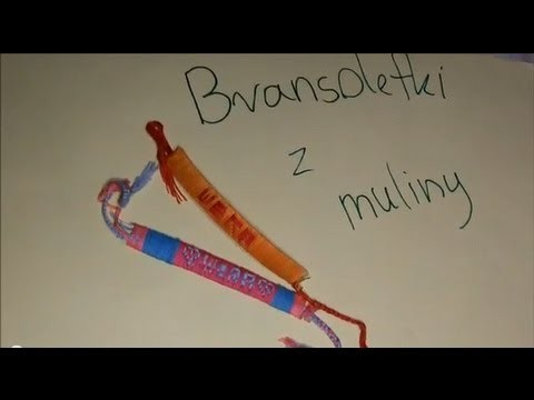 DIY: ♥ Mulinowe bransoletki z imionami ♥