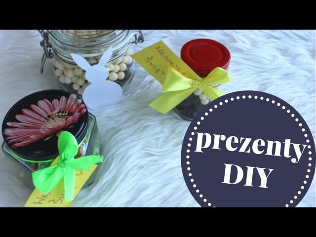 Jak zrobić wielkanocny słoik z cukierkami na prezent DIY