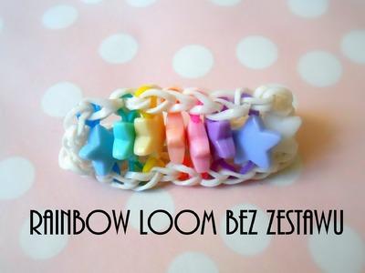 Jak zrobić bransoletkę Rainbow Loom bez zestawu?