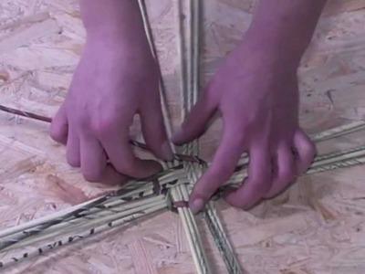 Papierowa wiklina krok po kroku- jak skręcać rurki