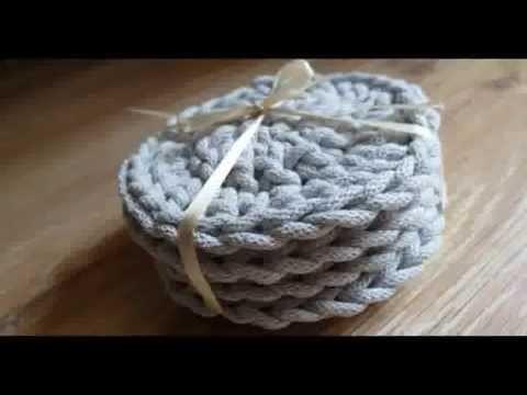 Podkładki szydełkowe krok po kroku. crochet. podkładka na szydełku