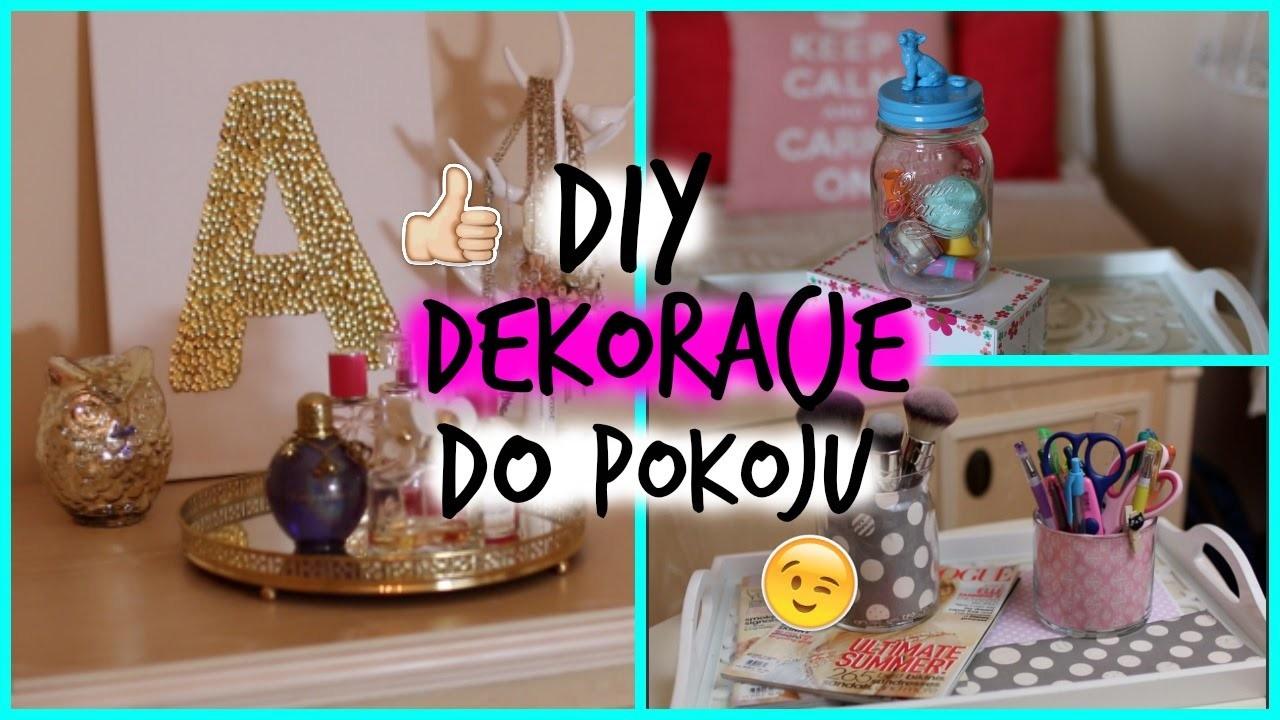 DIY - Dekoracje do pokoju.Room decor!