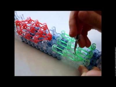 Rainbow Loom żółw :) | recenzja gumek loomek