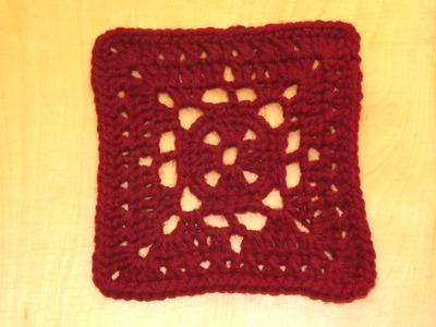 Kwadrat babuni (granny square) - Szydełkowanie bez tajemnic