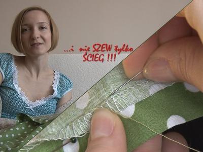 Zrób to sama czyli jak ręcznie podwinąć spódnicę! DIY how to tuck a skirt by hand!