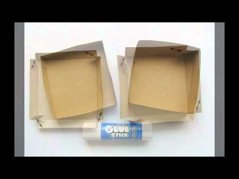 DIY - szare pudełko z koronką