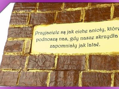 DIY Cegiełkowy obrazek. Brick picture (+ENG Subtitles) - Na szybko #109