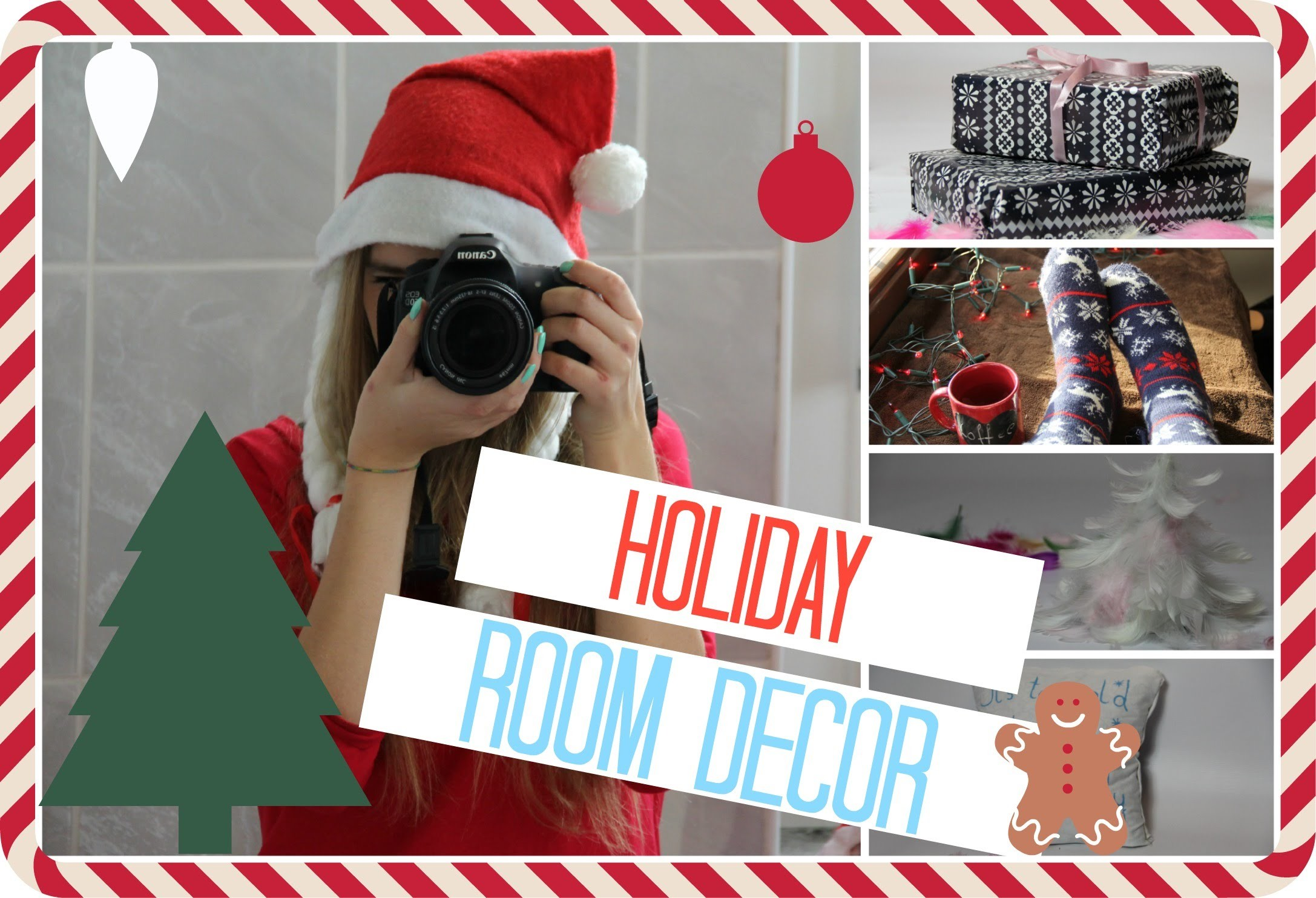 DIY Holiday Decoration | Darlsic & Vdabrovska