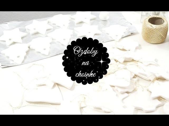 ❅❅❅Idą Święta❅❅❅ DIY Zimna Porcelana. Masa Plastyczna | DzienBezKawyTV