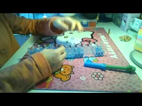 Bransoletka 1 LOOM BANDS TuToRiAL