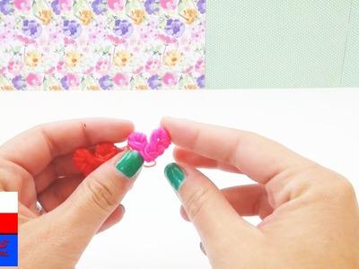 Jak zrobić serce z gumeczek loom bands - tutorial