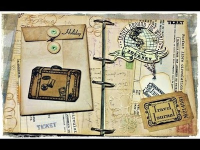 COIN ENVELOPE TUTORIAL 10x14, JAK ZROBIĆ KOPERTĘ BEZ PUNCH BOARD, SCRAPBOOKING, DIY