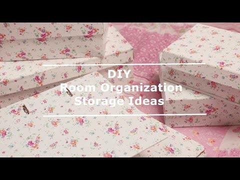 DIY  Room Decor  Room Organization and Storage Ideas!  [anna koper]