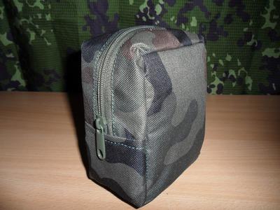 Kieszeń  CARGO zrób to sam. DIY Tactical Zipper Pouch homemade