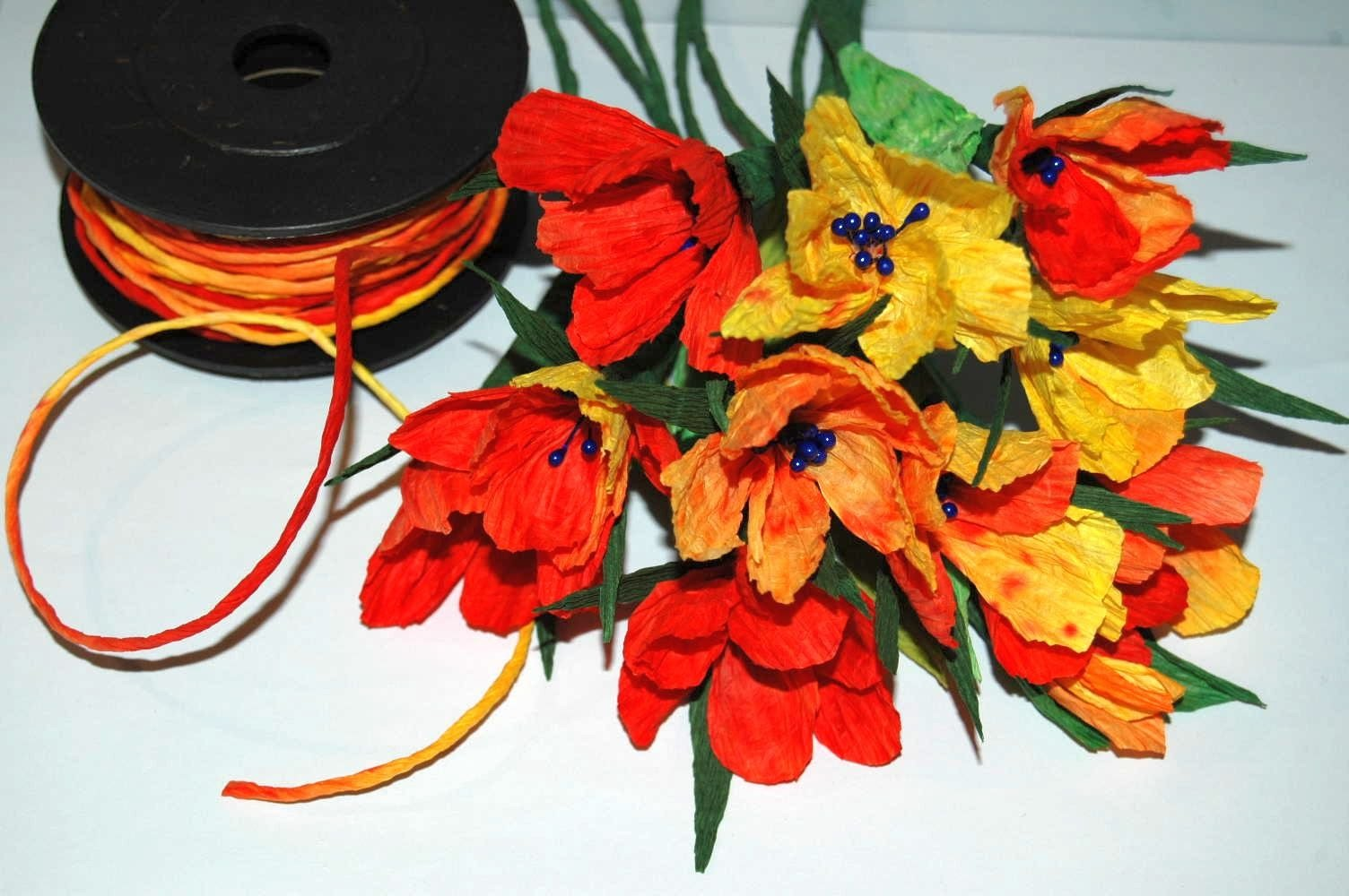 Twist Art kwiaty -  Twist Art flowers DIY