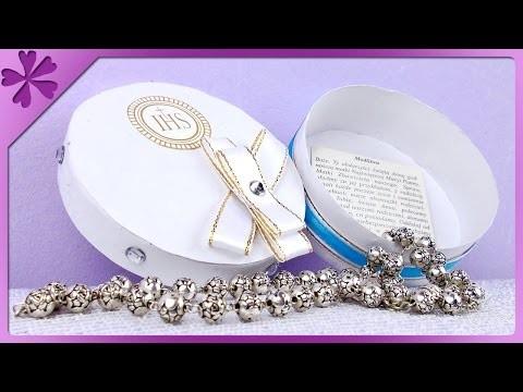 DIY Pamiątka komunijna, pudełko. First Communion box (+ENG Subtitles) - Na szybko #90