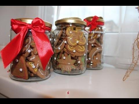 Pomysł na prezent świąteczny dla najbliższych. Słoiczki na pierniczki. DIY