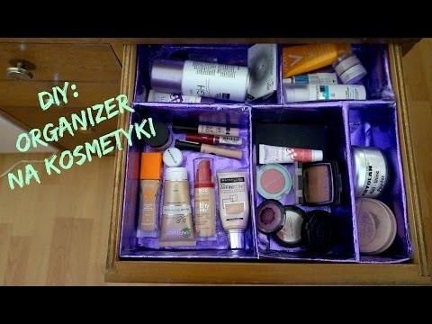 DIY: Organizer na kosmetyki