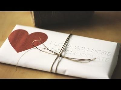 DIY słodki upominek na Walentynki