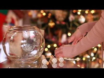 Ozdoby świąteczne DIY - pachnąca kompozycja na stół