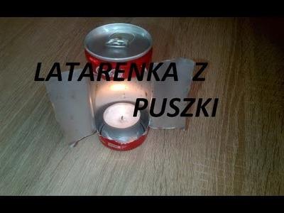 DIY- Latarenka z puszki