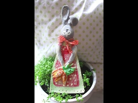 Wielkanocny zajączek DIY
