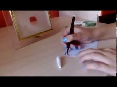 DIY- Jak zrobić szklaną tabliczkę na notatki?