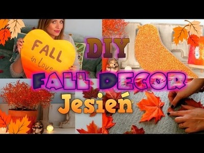 DIY JESIENNE OZDOBY DO POKOJU Fall Room Decor 2015
