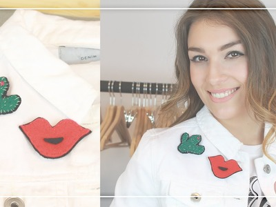 DIY naszywki na ubrania i broszki z filcu: pomysł na modną biżuterię