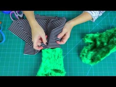Jak uszyć rękawiczki - Zrób to sam(a) - rękawiczki futrzaki - DIY Coza Szycie