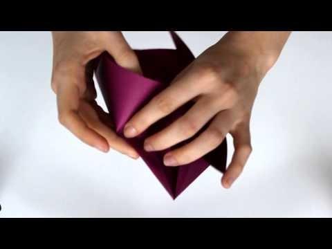3D PAPER HEART DIY
