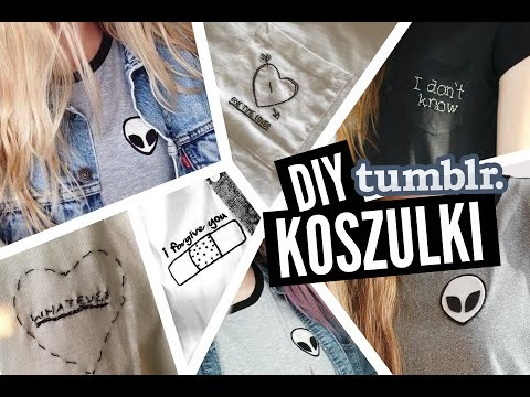 DIY Tumblerowe koszulki
