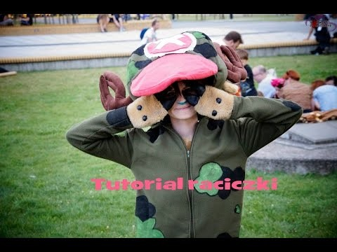 Tutorial raciczki - Tony Tony Chopper -  One Piece DIY