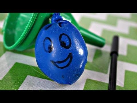 DIY - Antistress Ball. Piłeczka Antystresowa - Creative Fun. Kreatywne Zabawy