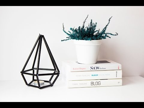 Geometric crystal DIY