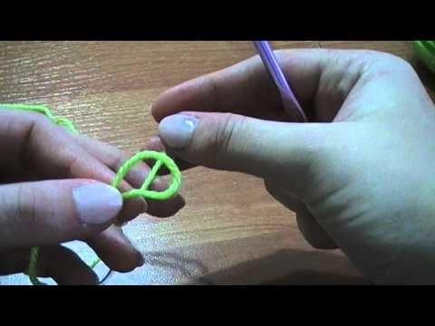 No #01 Łańcuszek szydełko - chain crochet - krok po kroku