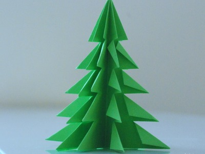 Jak zrobić choinkę z papieru. How to make a Paper Christmas Tree