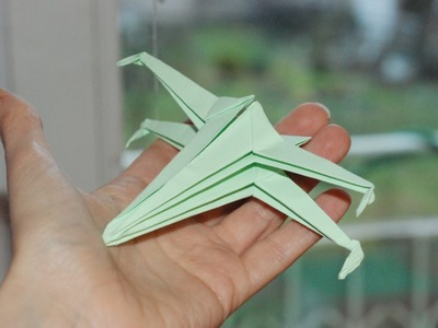 Jak zrobić X-wing origami. How to make an origami X-wing