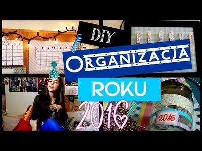 DIY po polsku #7 Organizacja roku 2016| Słoik wspomnień, organizer | Yoasia