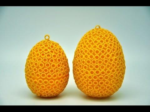 Jajko niespodzianka -  pisanka. Recycled DIY egg crafts