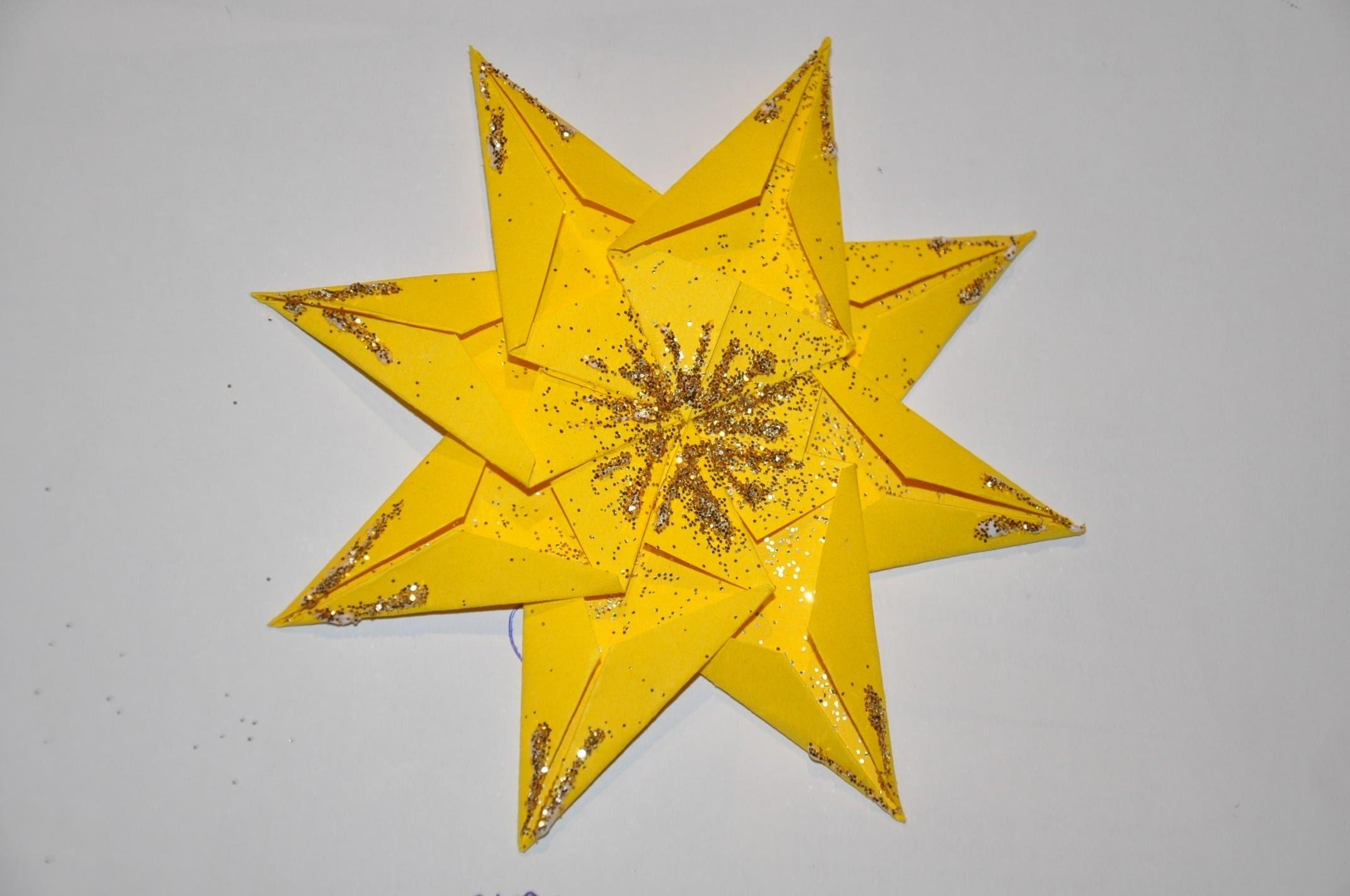 Gwiazda z papieru krok po kroku # How to make a paper star DIY